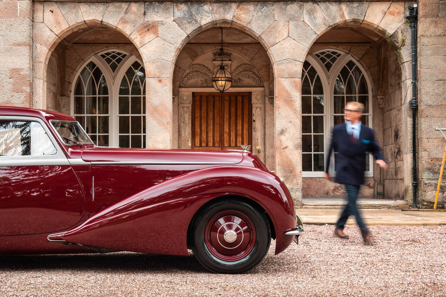 Driving the aero Corniche that has enchanted Bentley bosses for 80 years