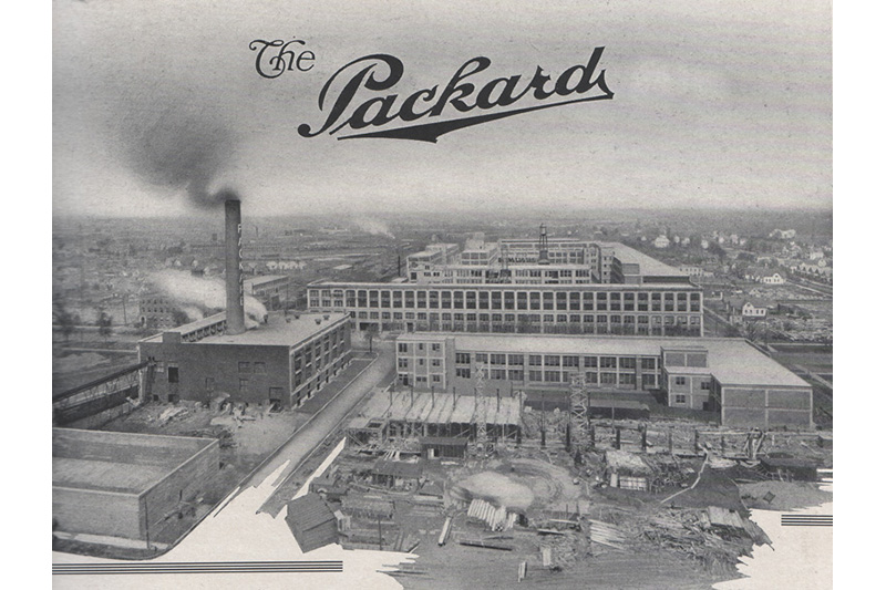 Just 22 miles separate these Packard landmarks, but they're worlds apart
