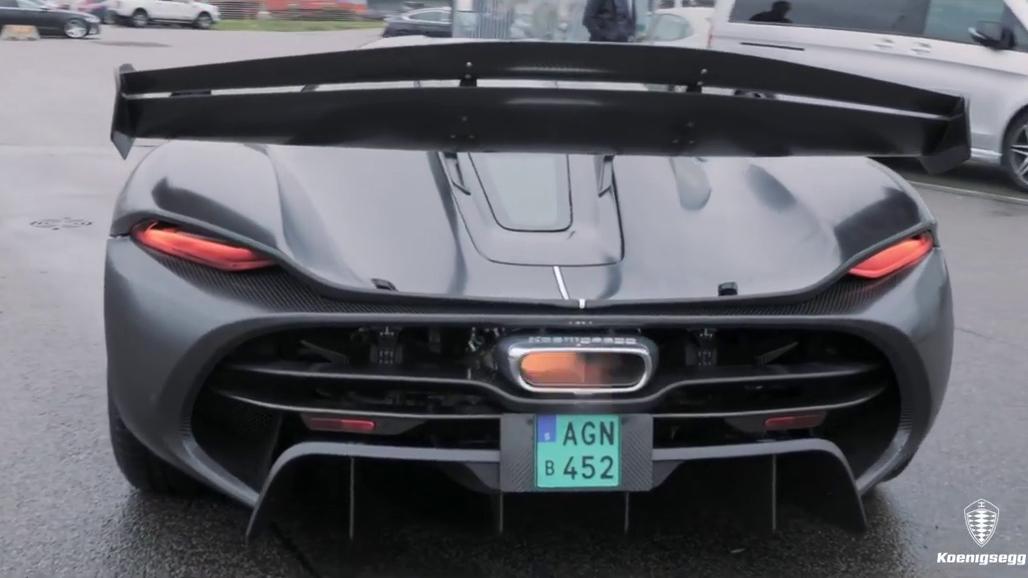 Watch Christian von Koenigsegg rev a naked Jesko prototype thumbnail