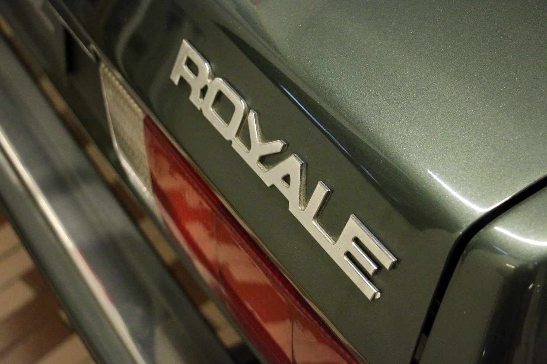 royale rear badge