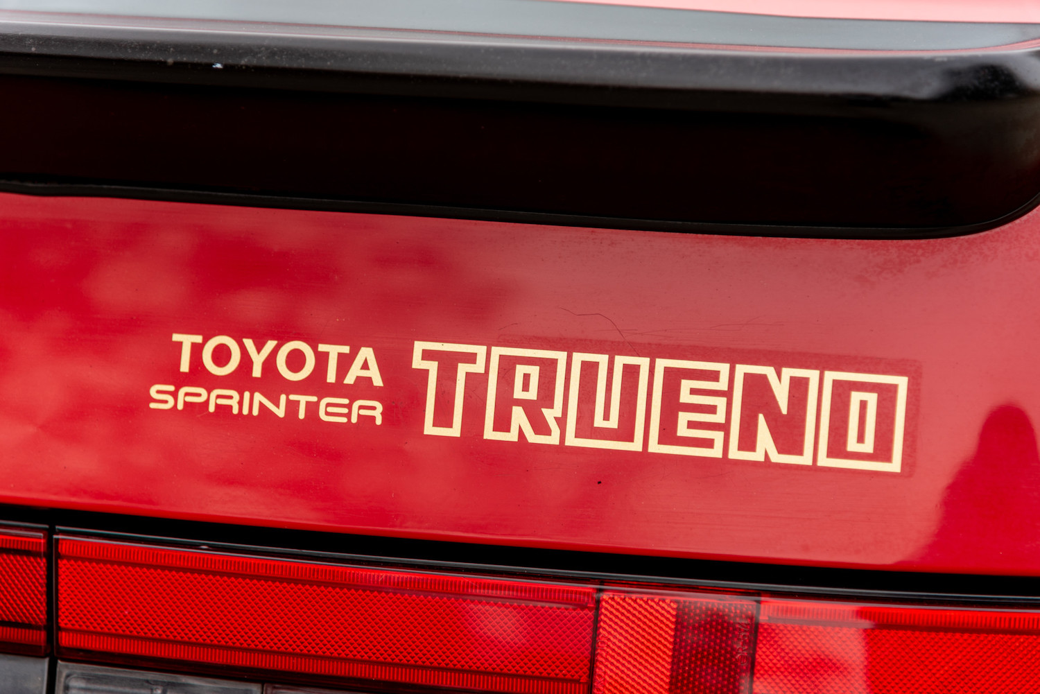 rear toyota sprinter trueno
