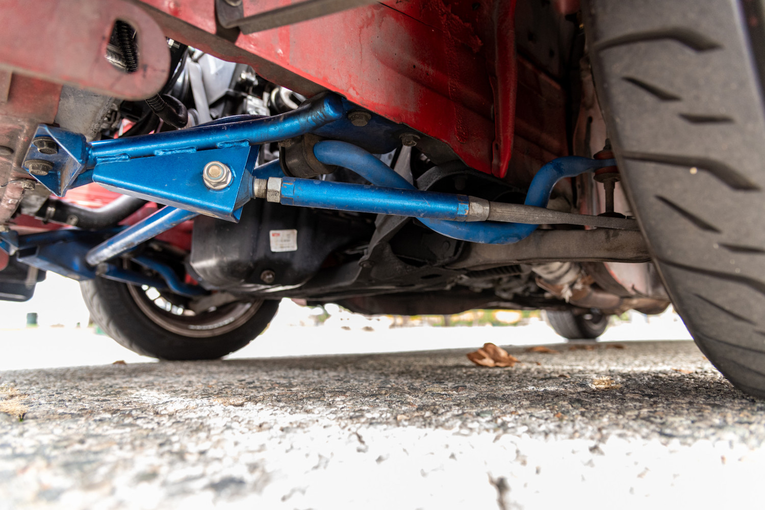lower custom suspension components