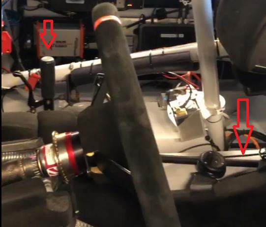 shifter linkage setup with arrows