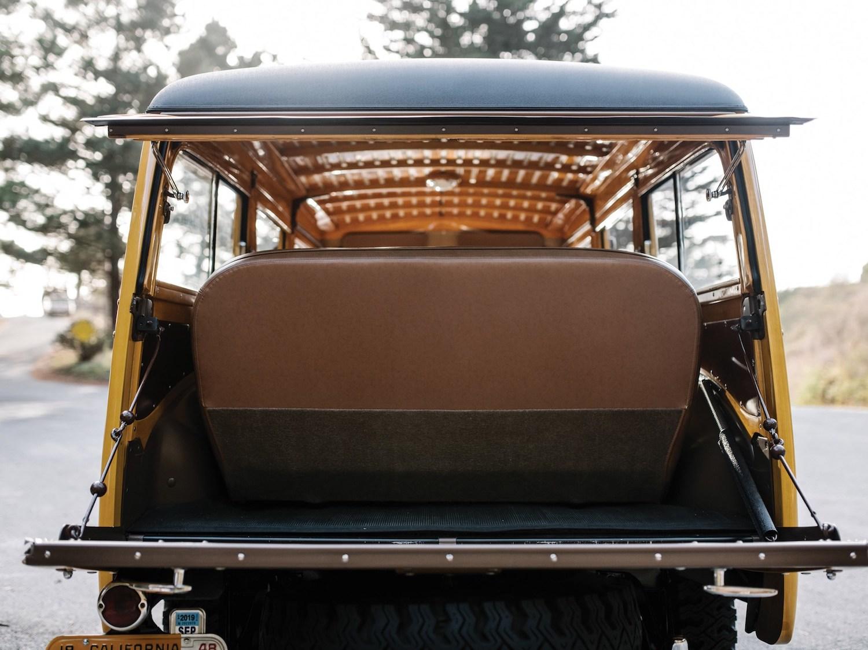 rear open hatch