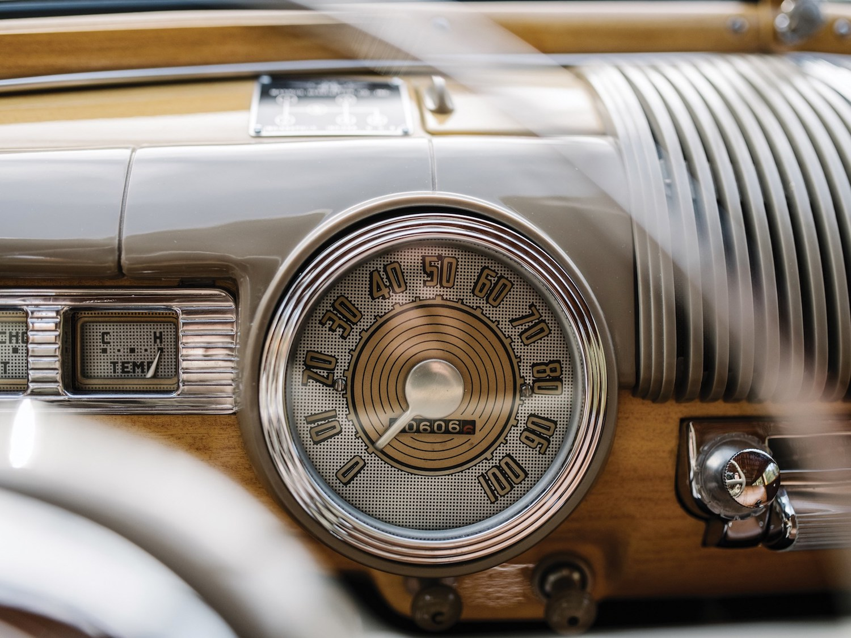 speedometer close-up