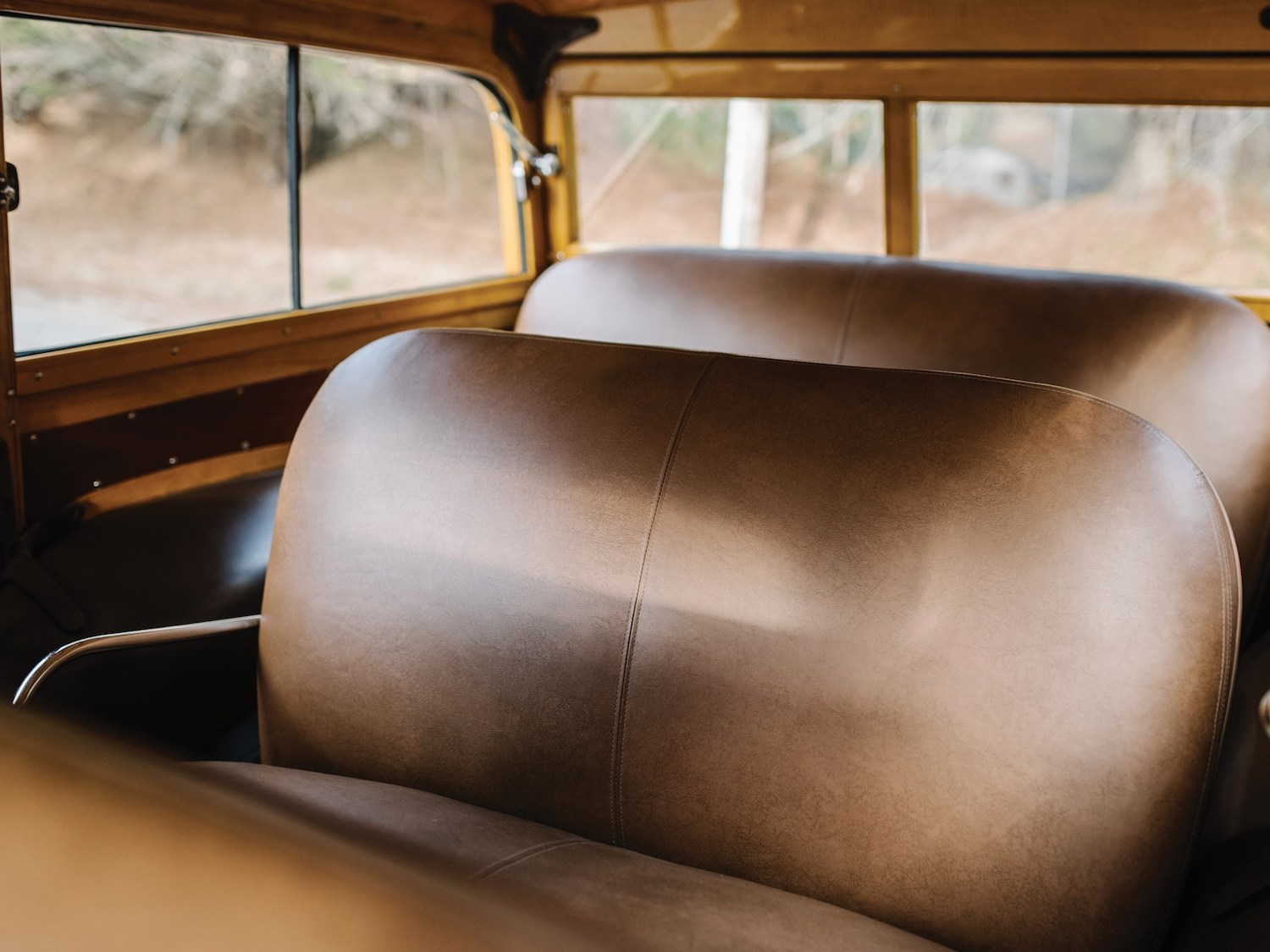 interior leather bench seats