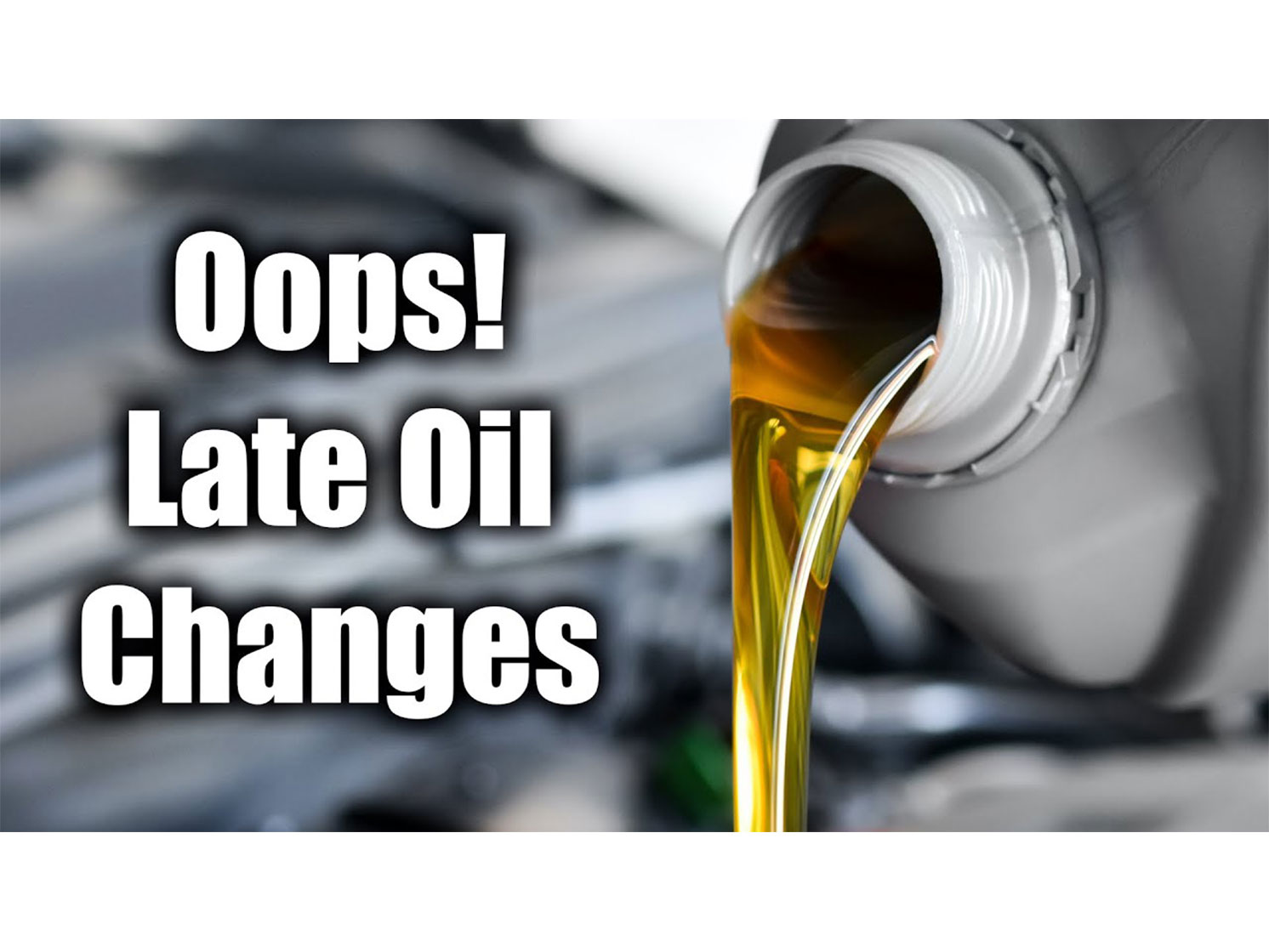 Is missing an oil change a big deal? Turns out, yes thumbnail