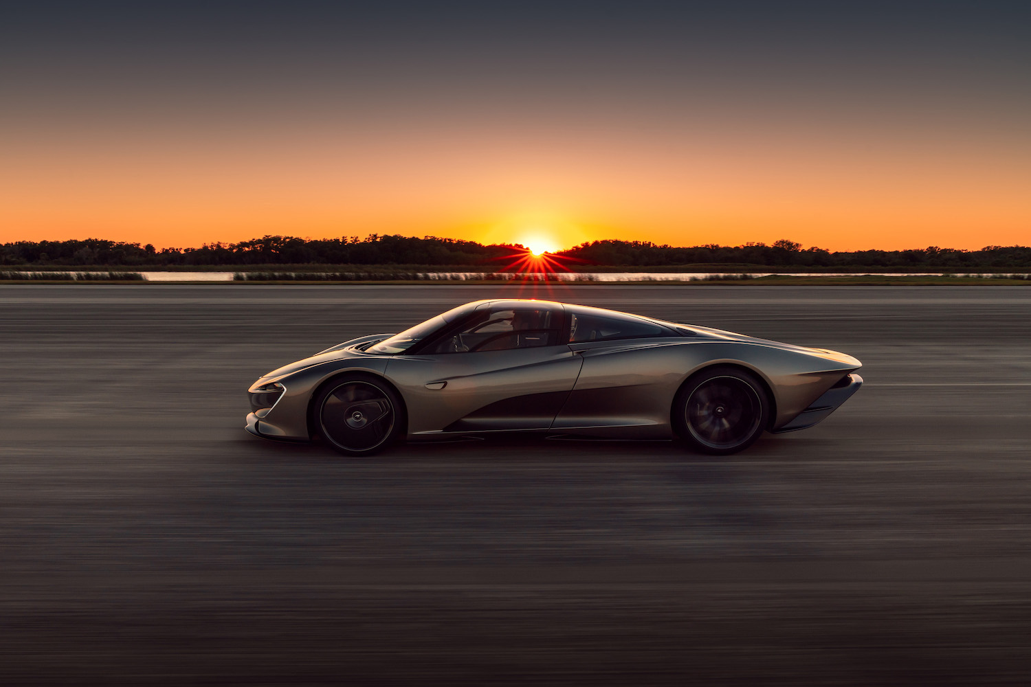 The McLaren Speedtail achieved its 250 mph top speed at the Kennedy Space Center thumbnail