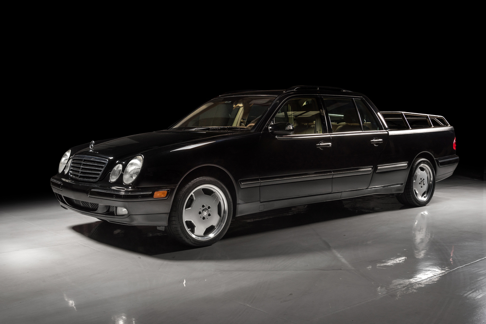 2000 Mercedes-Benz E320 pickup conversion