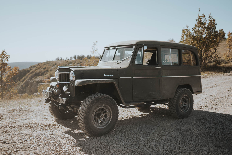 1958 Willys Jeep wagon