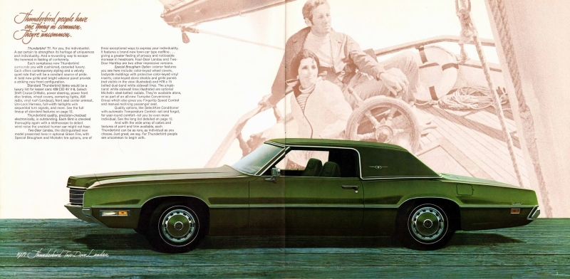 ford thunderbird ad
