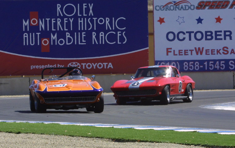 orange car on track racing