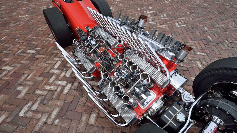 2007 Buick Nailhead Showboat Slingshot Dragster engines overhead