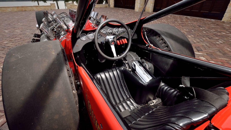 2007 Buick Nailhead Showboat Slingshot Dragster cockpit