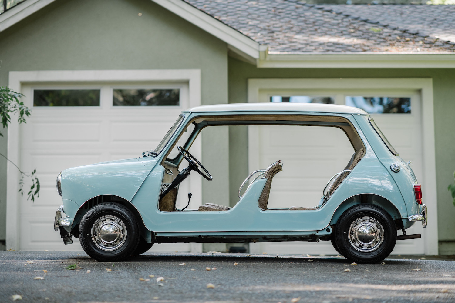 1962 Austin Mini Beach Car side-view