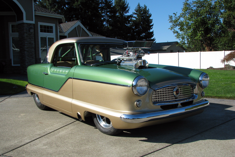 Nash Metropolitan drag car