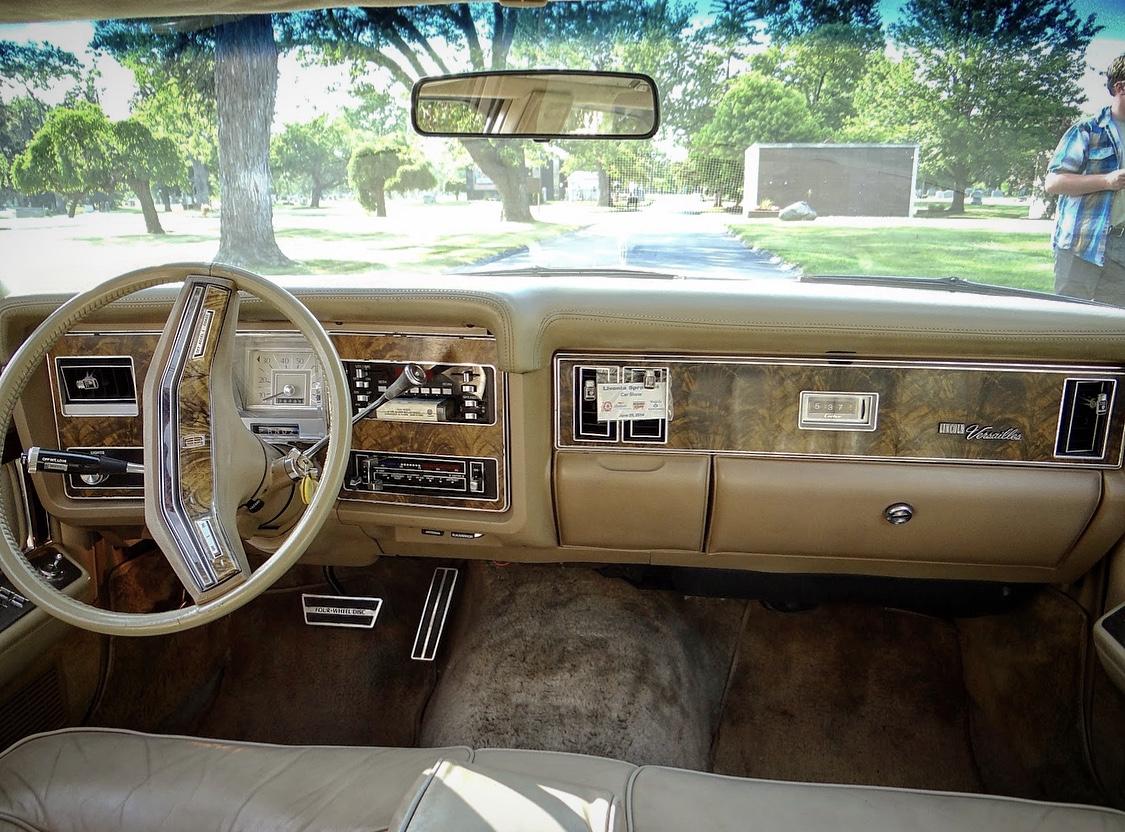 front interior dash