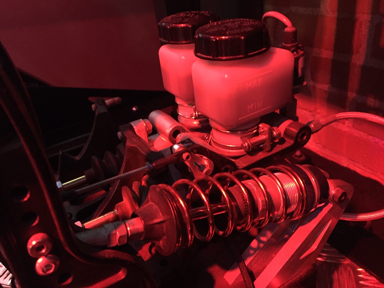 professional racing simulator pedal hydraulics