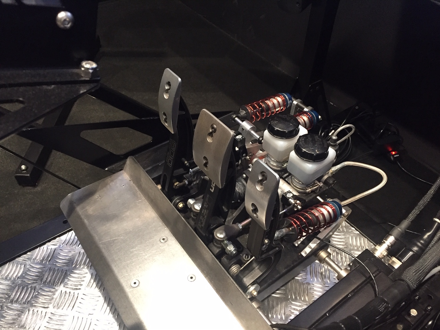 professional racing simulator pedals