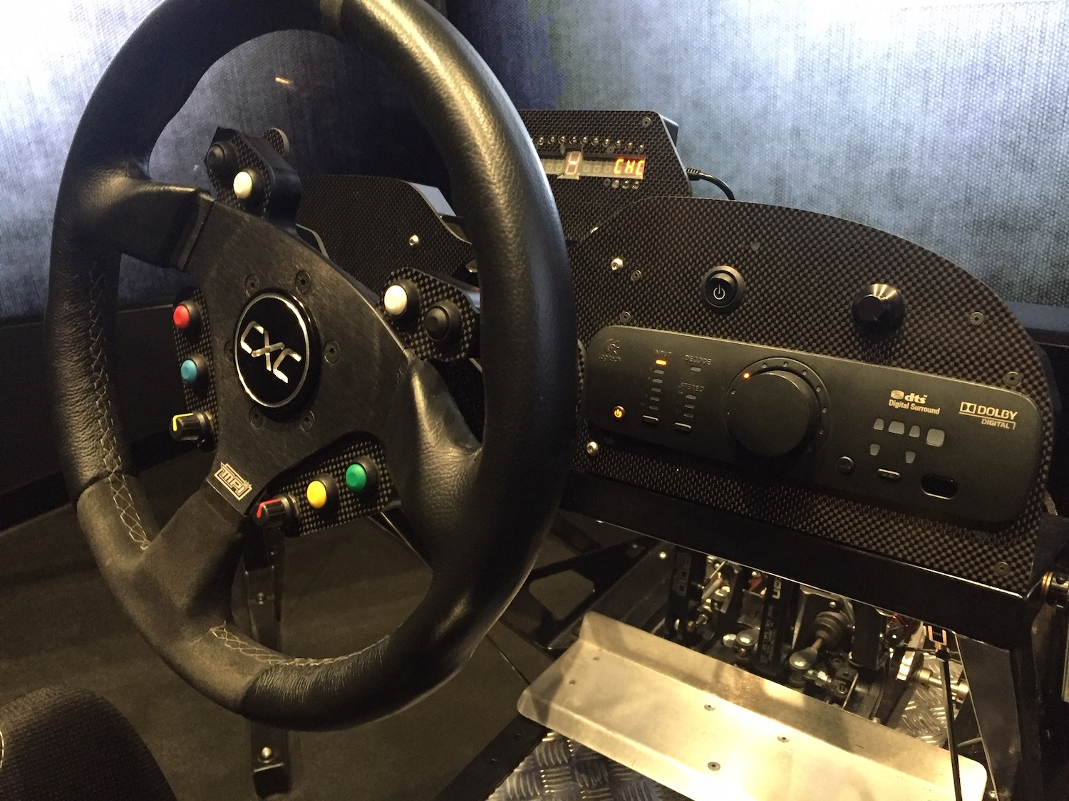 professional racing simulator wheel