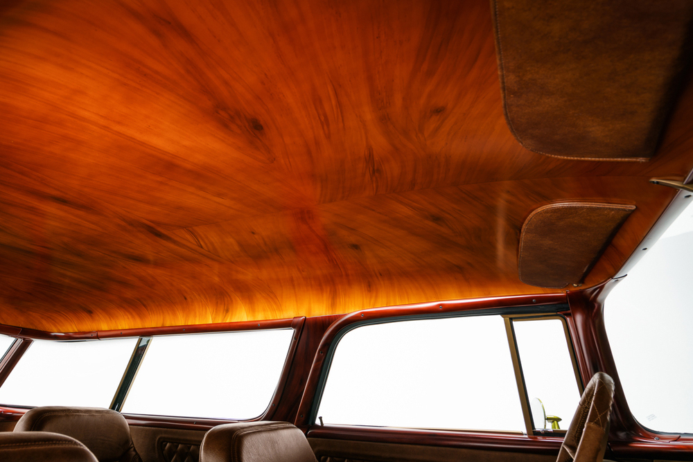 wagon interior headliner