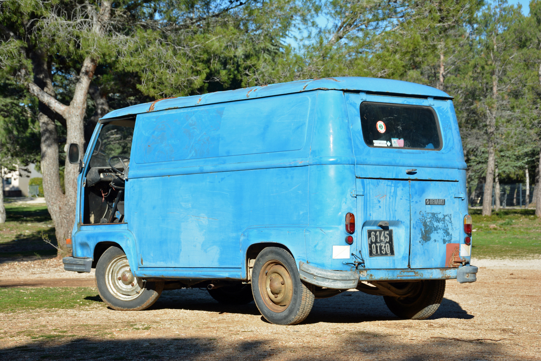 blue rear three-quarter