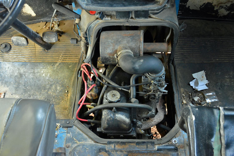 interior engine overhead