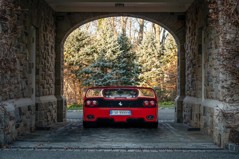 1995 red rear under archway