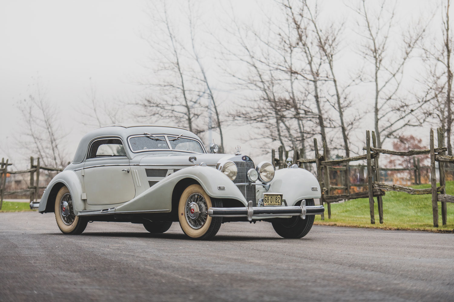 1937 Mercedes-Benz 540 K Coupe