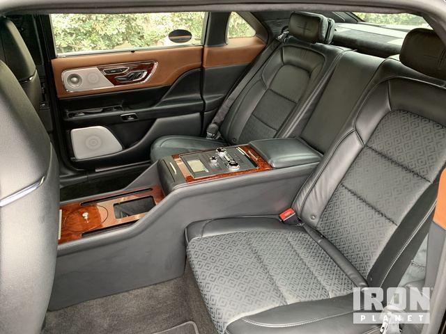2019 Lincoln Continental Black Label Coach Door Edition