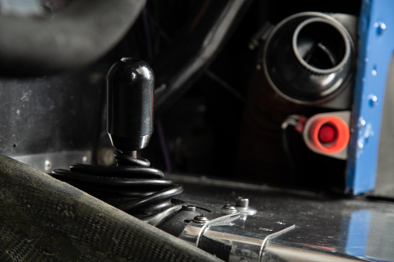 interior shifter closeup