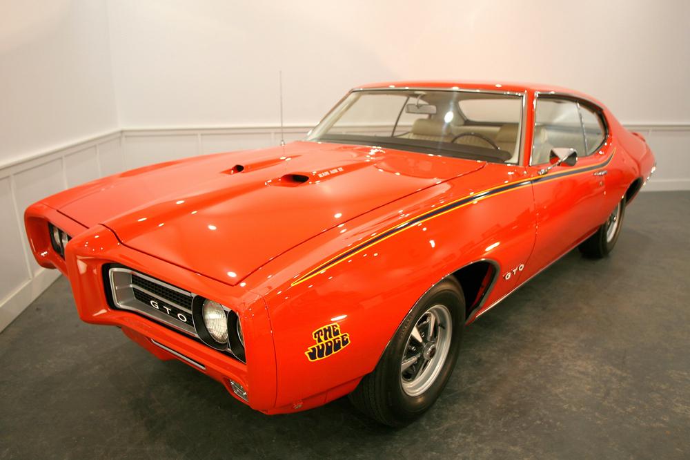 1969 Pontiac GTO Judge Ram Air IV