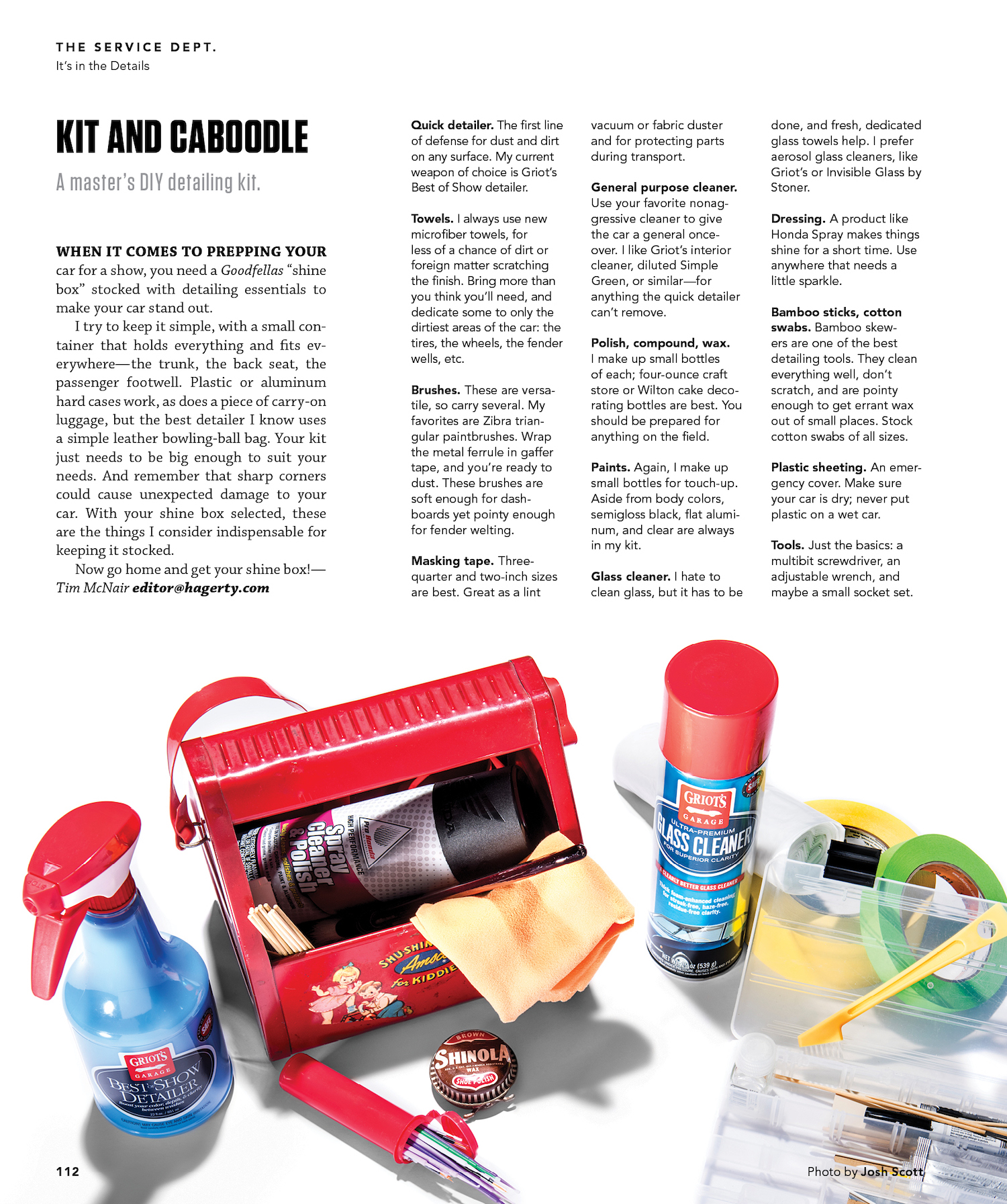 hagerty magazine kit and caboodle story art