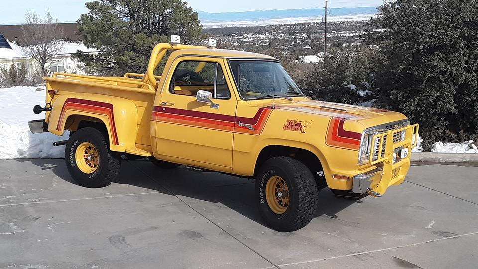 1977 Dodge Top Hand Prototype