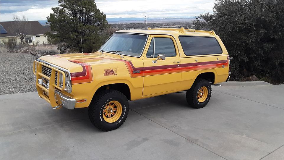 1977 Dodge Trail Duster Top Hand Prototype 4×4