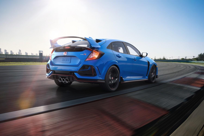 2020 Honda Civic Type R refresh includes revised brakes, suspension thumbnail