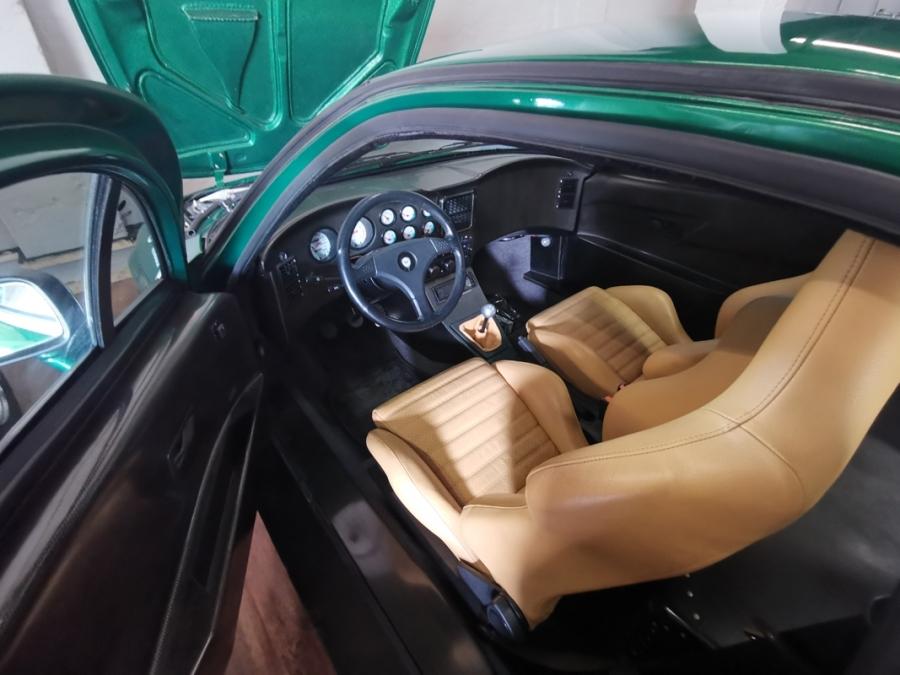 1992 Lancia Hyena Zagato interior
