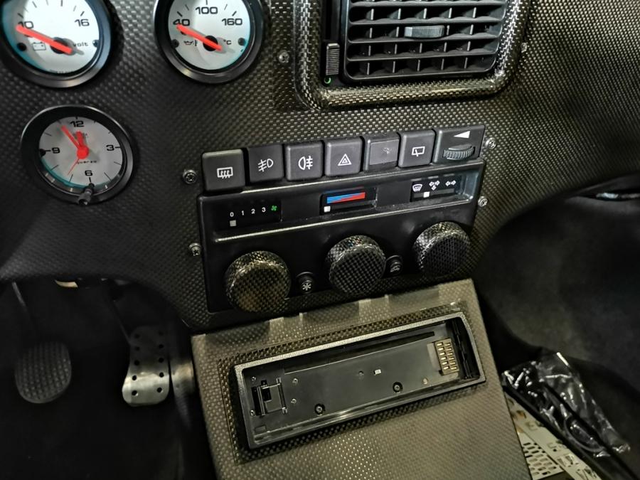 Lancia Zagato Hyena interior