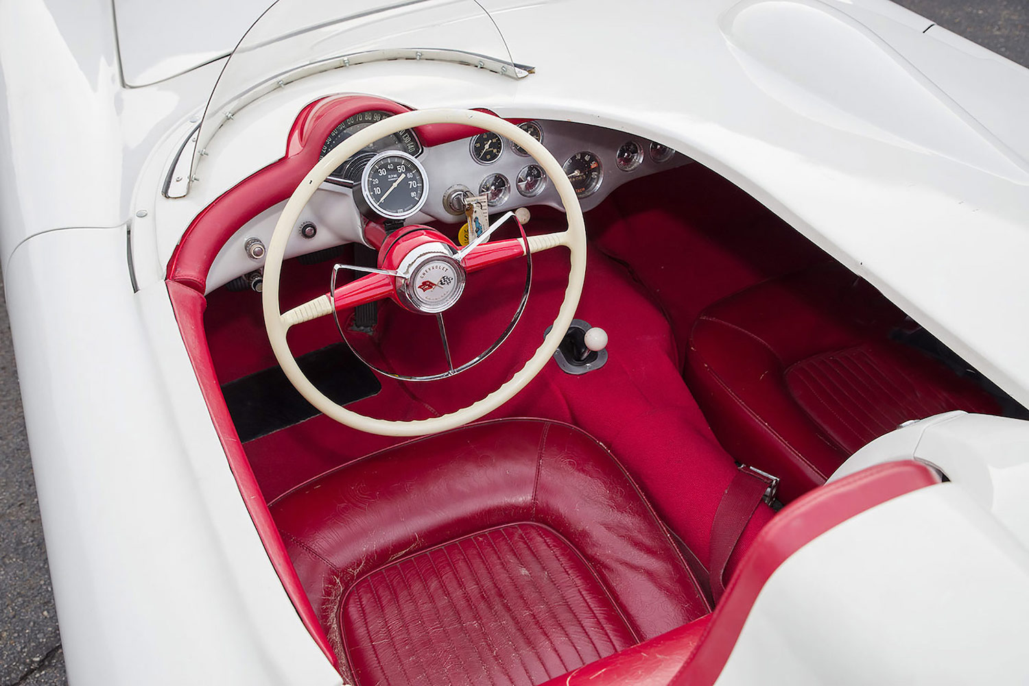 1954 Chevrolet Corvette Test Mule EX-87/5951 interior