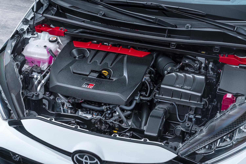 2020 yaris gr white engine