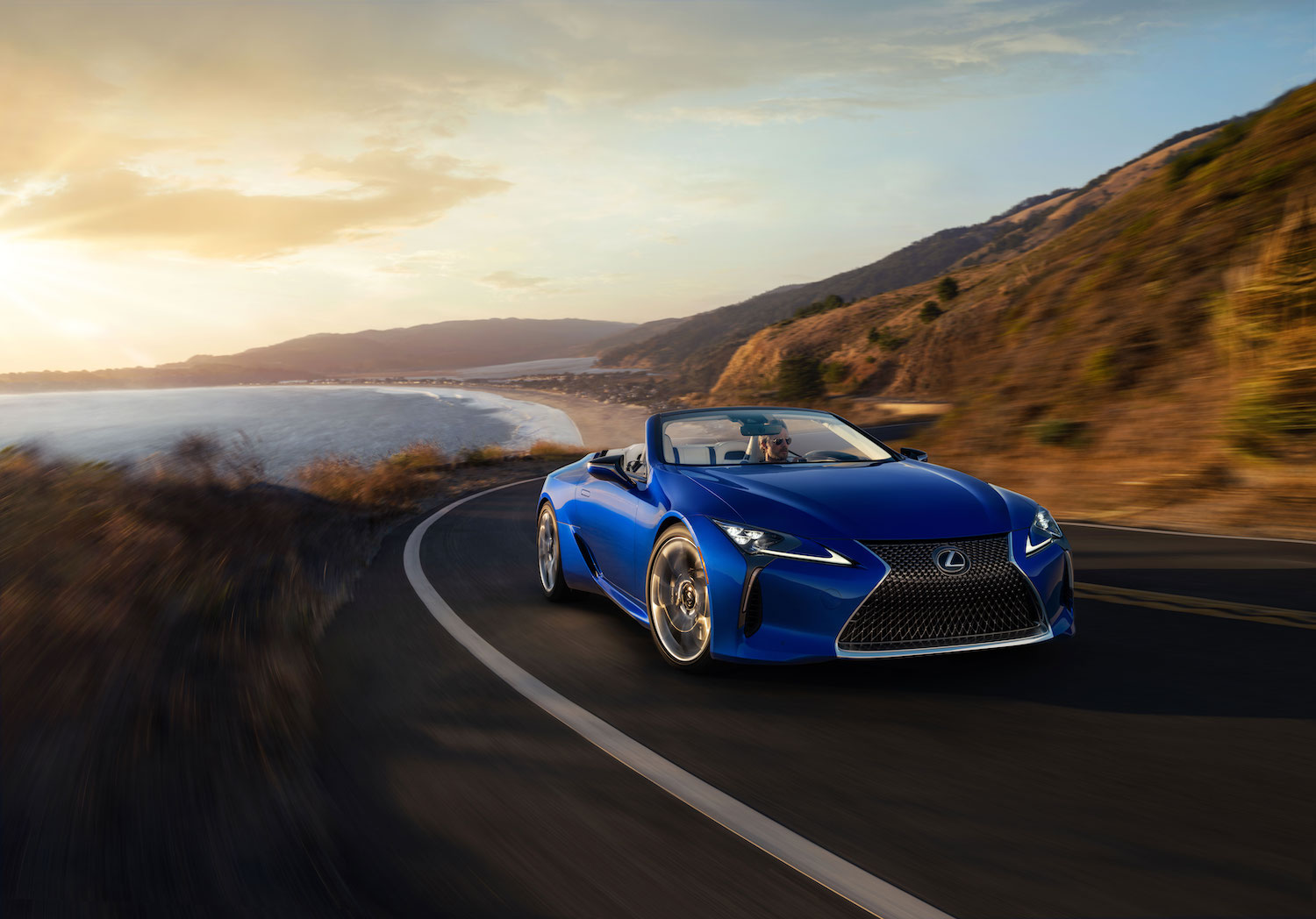 This uniquely blue 2021 Lexus LC 500 Convertible headed to charity auction thumbnail