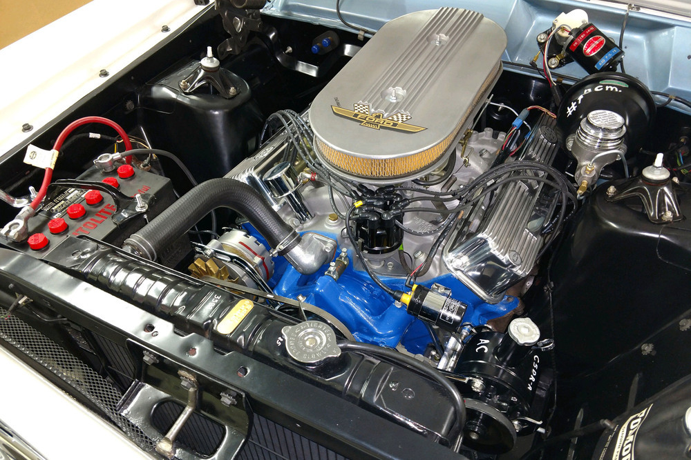 1966 Ford Fairlane 500 GT-X Prototype Show Car engine