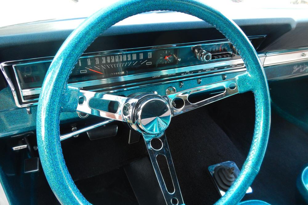 1966 Ford Fairlane 500 GT-X Prototype Show Car steering wheel