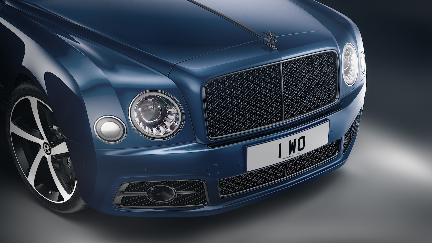 front grille close-up
