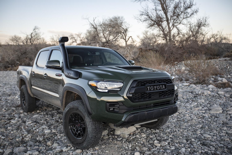 2020 Toyota Tacoma TRD pro army green