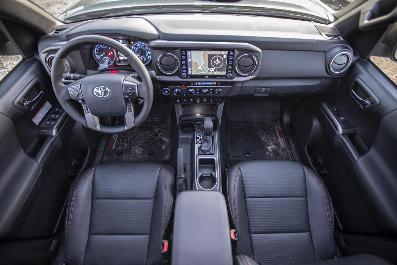 2020 Toyota Tacoma TRD overhead