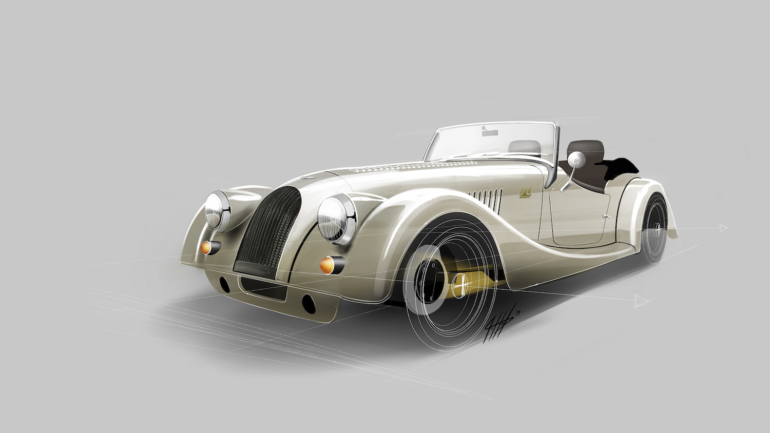 Morgan honors 70 years of the Plus 4 with this limited-run Anniversary Edition thumbnail