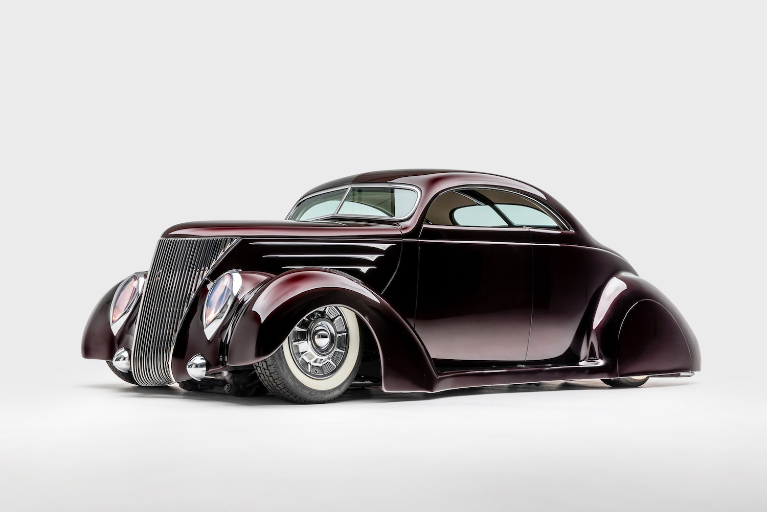 custom 1937 Ford Coupe james hetfield collection