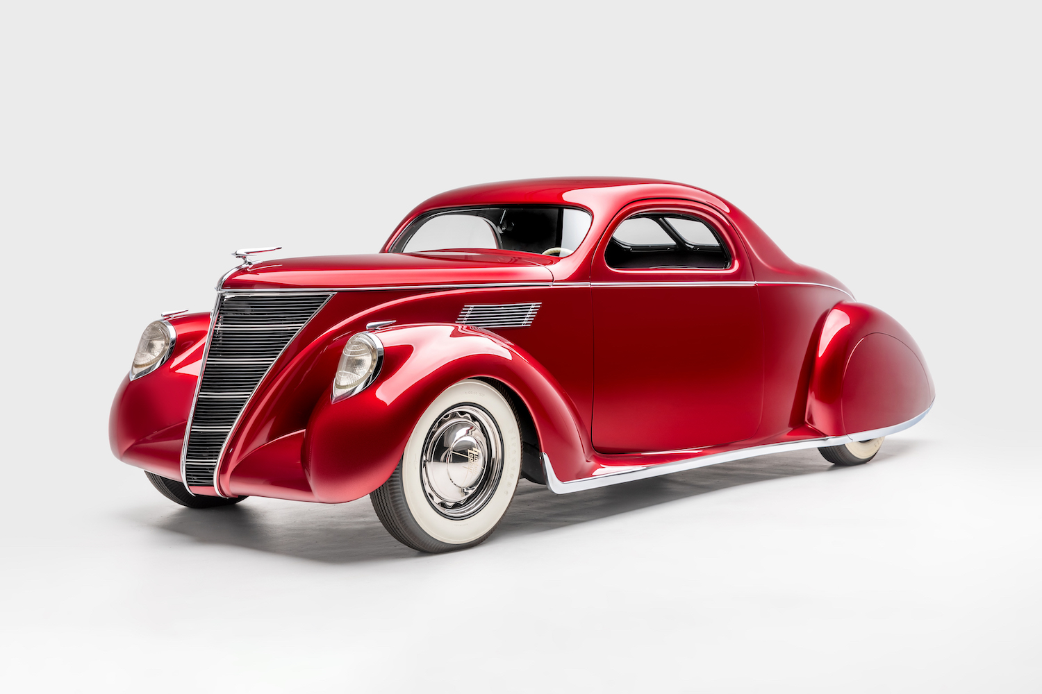 custom 1937 Lincoln Zephyr james hetfield collection