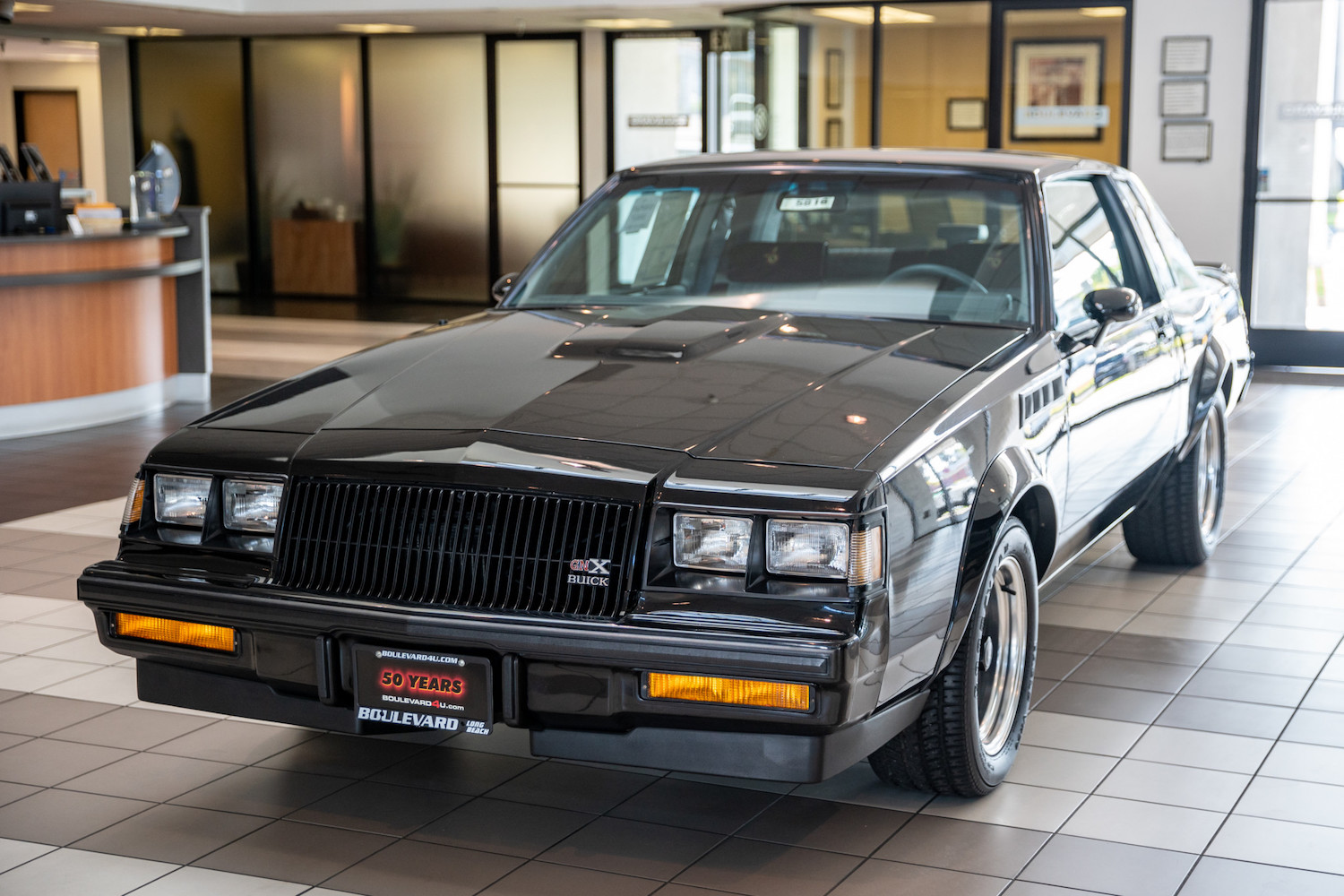 """Own the 1987 Buick GNX that starred in """"Jay Leno's Garage"""" thumbnail"""